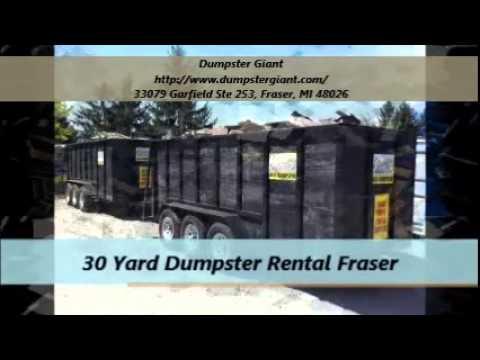 Dumpster Giant Rentals