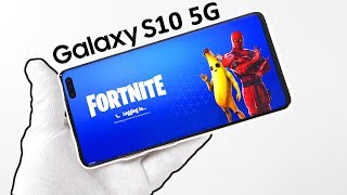 "Samsung Galaxy S10 ""5G Edition"" Phone Unboxing - Big Fortnite Problem!"
