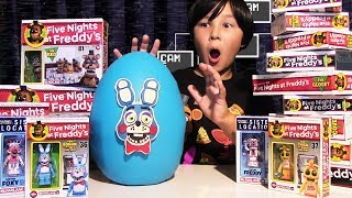 Giant FIVE NIGHTS AT FREEDY'S Play Doh Surprise Egg FUNKO Vinyl Toys & Figures