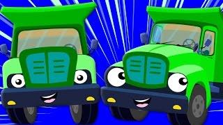 The Wheels On The Truck | Nursery Rhyme | Childrens Song | Baby Rhymes | Kids Tv Nursery Rhymes