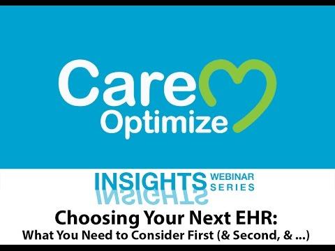 Insights17 Choosing Your Next EHR