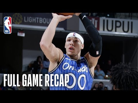 MAGIC vs PACERS | Aaron Gordon Goes For A Near Triple-Double | March 30, 2019