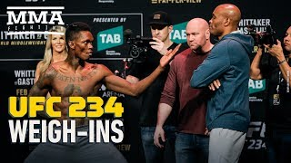UFC 234 Weigh-In Highlights - MMA Fighting