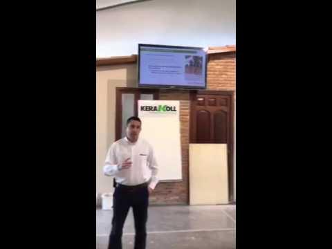Curso saté Kerakoll , Socyr asistió como distribuidor de corcho natural