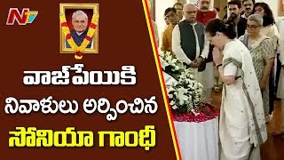 Sonia Gandhi Pays Tribute to Atal Ji !..
