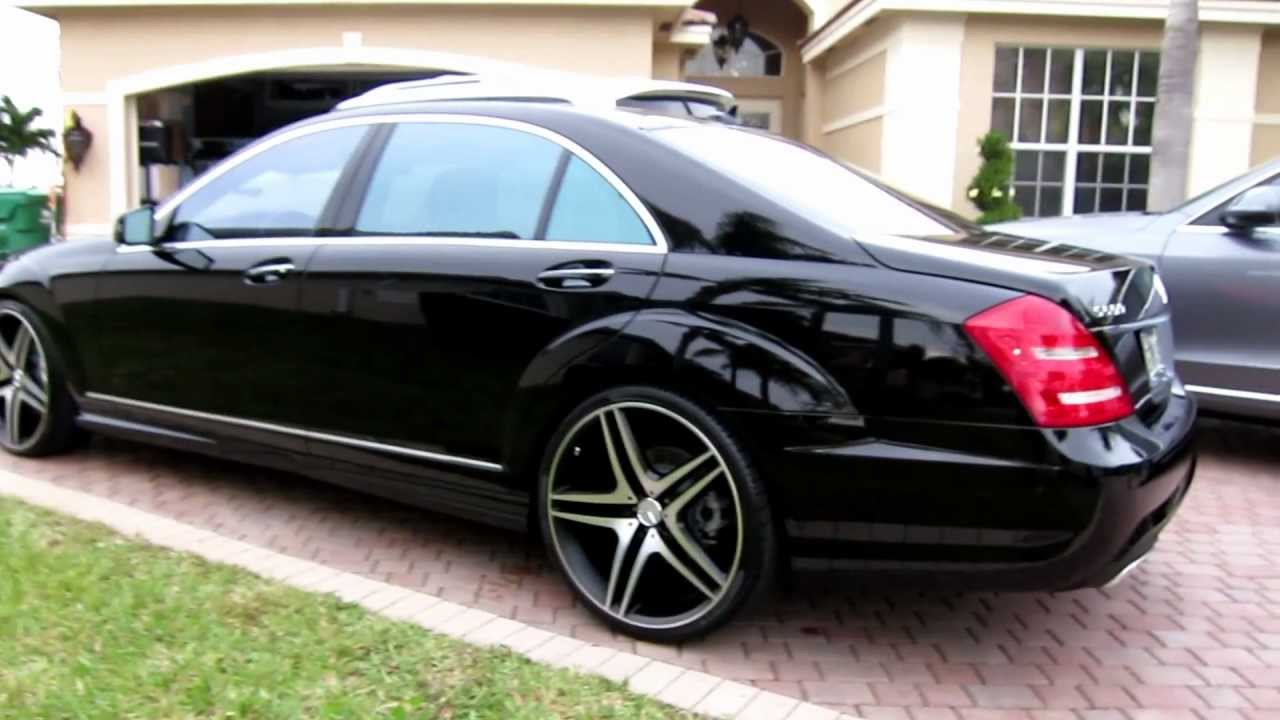 """Cars Com Chicago >> 2013 Mercedes Benz S550 on 22"""" Rims by Advanced Detailing of South Florida - YouTube"""