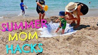 SUMMER MOM HACKS     SUMMER MUM HACKS     BEACH HACKS