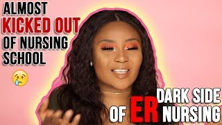 I went from a 4.0 GPA to almost being kicked out of Nursing school | Graduation GRWM