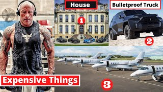 10 Most Expensive Things Dwayne The Rock Johnson Owns - MET Ep 14