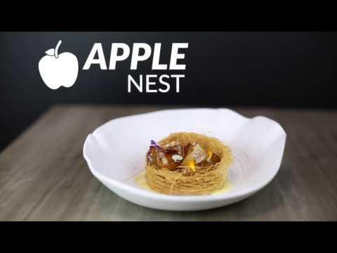 Nido de manzana1