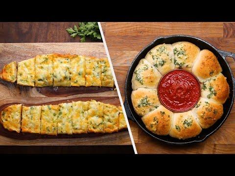 Warm And Cheesy Garlic Breads ? Tasty Recipes