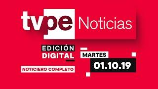 🔴¡Sigue EN VIVO  TVPerú Noticias Edición Digital con Carla Mendoza de lunes a viernes al medio día!