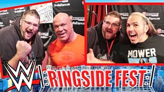 Cringe Man Meets WWE Superstars - Buys PROTO TYPE Figure - Ringsidefest Halloween 2018