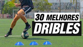 APRENDA 30 DRIBLES EM 30 MINUTOS | OS MELHORES DRIBLES DO FUTEBOL |