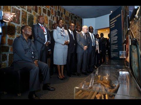 Le Président Alassane OUATTARA a visité le Mémorial du Génocide rwandais, à Kigali