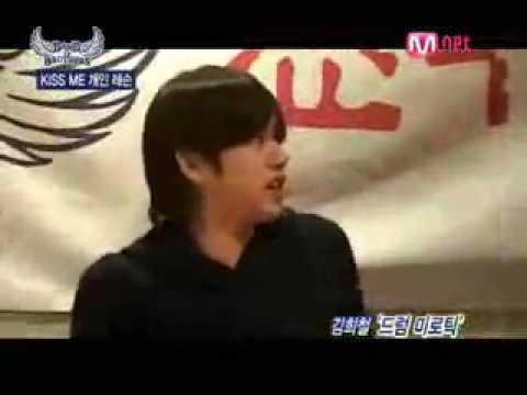 Heechul, Kangin and Minho(SHINee) singing Mirotic