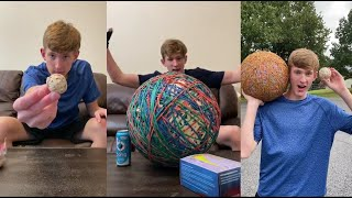 Funny Dylan Ayres Rubber Band Ball TikToks Compilation