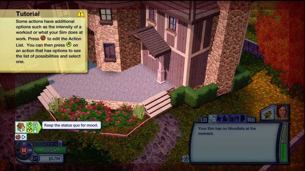 Can You Build Your Own House On Sims 3 Xbox