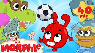 My Magic Soccer Match! Morphle's 2018 Football World Cup Cartoon For Kids!