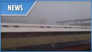 Genoa: moment Morandi Bridge collapses