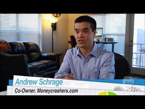 (DailyFinance) - Andrew Schrage of MoneyCrashers.com
