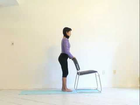 chair yoga sun salutation  youtube