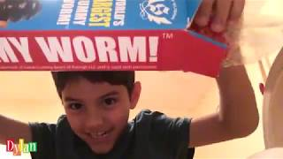 Unboxing a GIANT GUMMY WORM