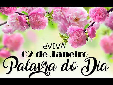 PALAVRA DE DEUS PARA HOJE 02 DE JANEIRO eVIVA MENSAGEM MOTIVACIONAL PARA REFLEXÃO DE VIDA - BOM DIA