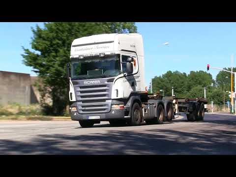Scania V8 Trucks Today  (5)  R580, R560, R500, XF 105