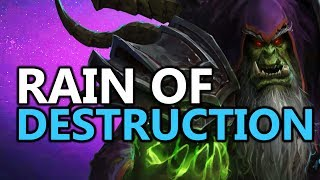 The New Rain of Destruction Gul'dan