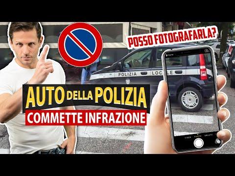 Si può FOTOGRAFARE l'auto della POLIZIA che commette infrazione? | Avv. Angelo Greco