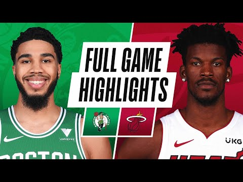 CELTICS at HEAT | FULL GAME HIGHLIGHTS | January 6, 2021