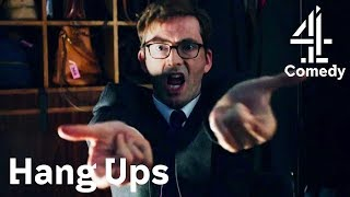 David Tennant Pretends to be Spider-Man as His Quiet Disguise? | Hang Ups