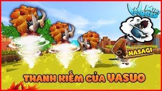 Mini World : NẾU MK GAMING SỞ HỮU THANH KIẾM KATANA CỦA YASUO TRONG MINI WORLD | MK Gaming