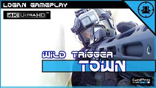 TOWN ✔ Wild Trigger / Gameplay [New Hope] French Airsoft [4K] [Amoeba M4 ARES]
