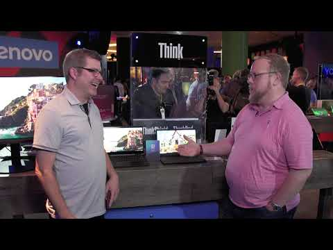 Lenovo Unboxed: X1 Carbon and X1 Yoga at CES 2019