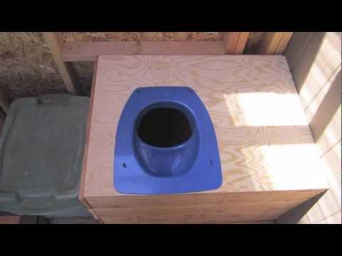 Diy Composting Toilet Part 2 Youtube