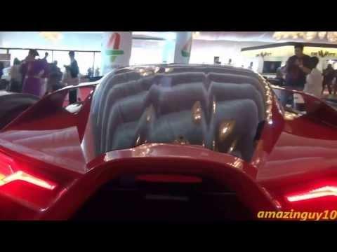 Alfa Romeo Pandion Concept + Bertone Mantide - Big Boys Toys 2013!!