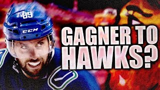 Sam Gagner To Chicago Blackhawks Trade Rumours (Vancouver Canucks - Sam Gagner Trade?) Canucks Trade