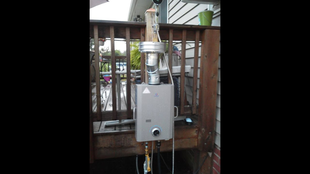 Off Grid Eccotemp L7 On Demand Tankless Lp Hot Water By