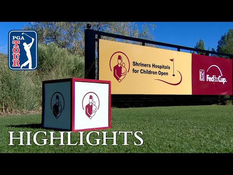 Highlights | Round 3 | Shriners 2018