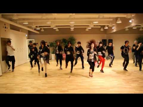 T-ara - Cry Cry mirrored dance practice
