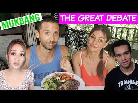 Roaming Millennial vs Vegan Gains 'The Problem with Vegans' | MUKBANG Response