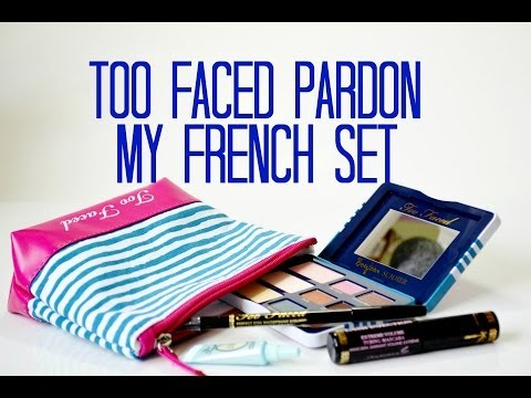 Review and Swatches: Too Faced Pardon My French Set