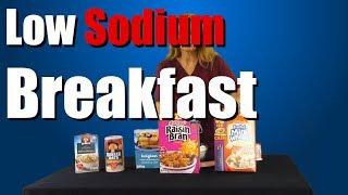 Low Sodium Breakfast Part 2 - Low Sodium Diet