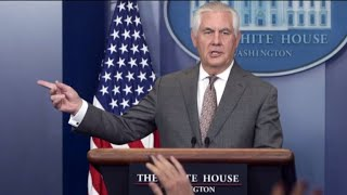 White House circulates plan to replace Secretary of State Rex Tillerson
