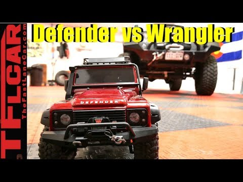 Warn Winch Tug of War: Land Rover Defender vs Jeep Wrangler!