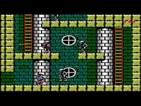 SILVER VALLEY Sega Master System by Mike Ruiz (first contact)