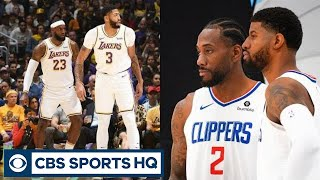 The Lakers or Clippers WILL WIN the NBA Championship | CBS Sports HQ