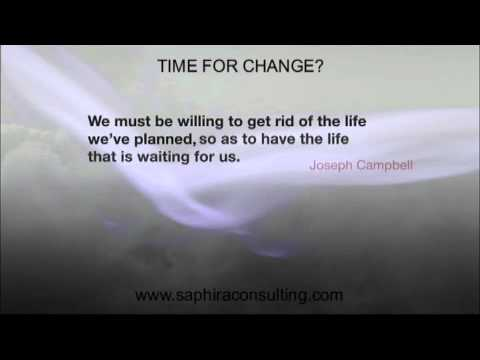 Saphira Consulting - Time for Change